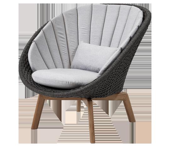 Garden Life Outdoor Living - 'Peacock' lounge szék