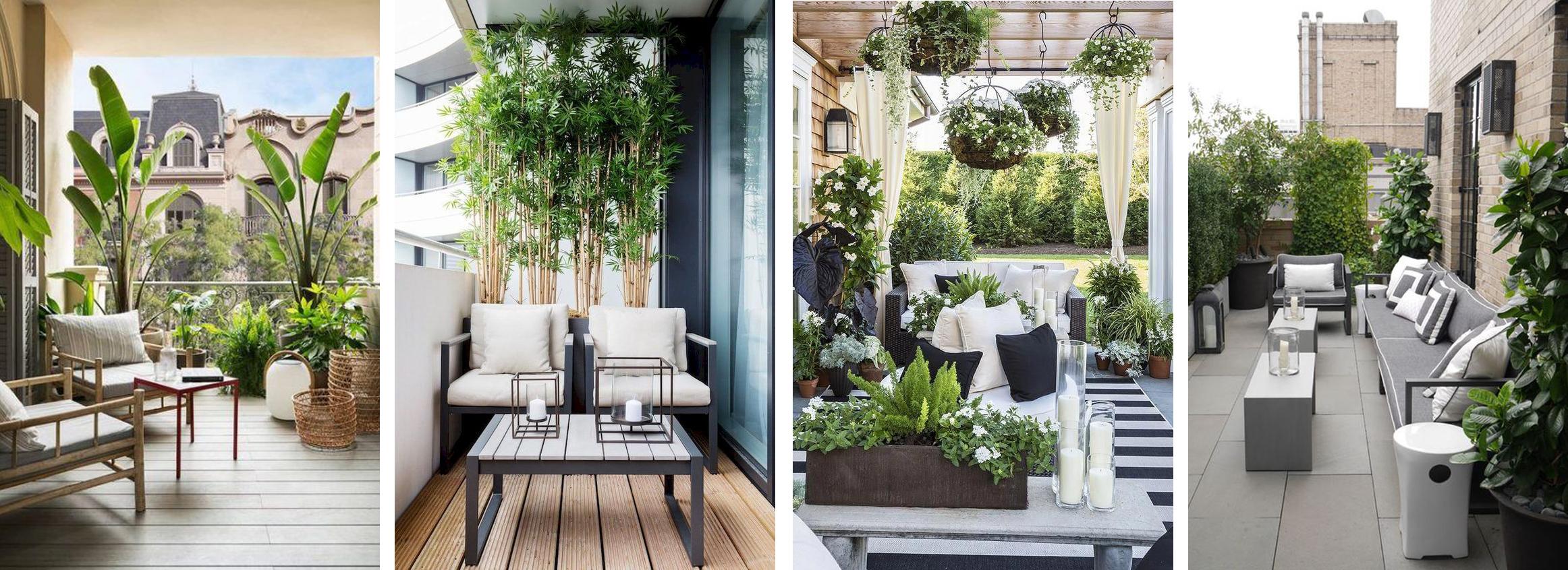 8 dizájn tipp, hogy nagyobbnak érezd az erkélyedet