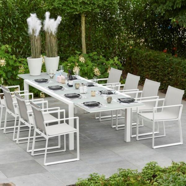Anabel + Primavera 8 személyes étkező garnitúra