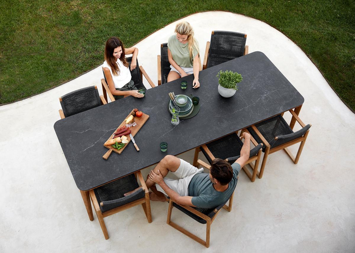 Garden Life Outdoor Living – 'Endless' kerti étkezőgarnitúra