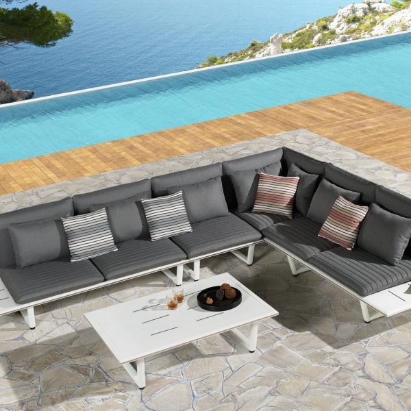 Garden Life Outdoor Living - Higold 'SOPHIA' kerti sarok ülőgarnitúra