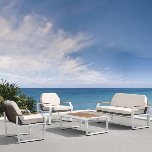Garden Life Outdoor Living - Higold 'TEAKMAN' kerti ülőgarnitúra