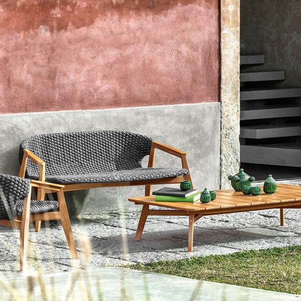 Garden Life Outdoor Living - Ethimo 'KNIT' kerti kanapé