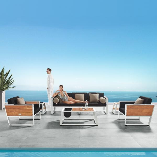 Garden Life Outdoor Living - Higold 'YORK' kerti ülőgarnitúra
