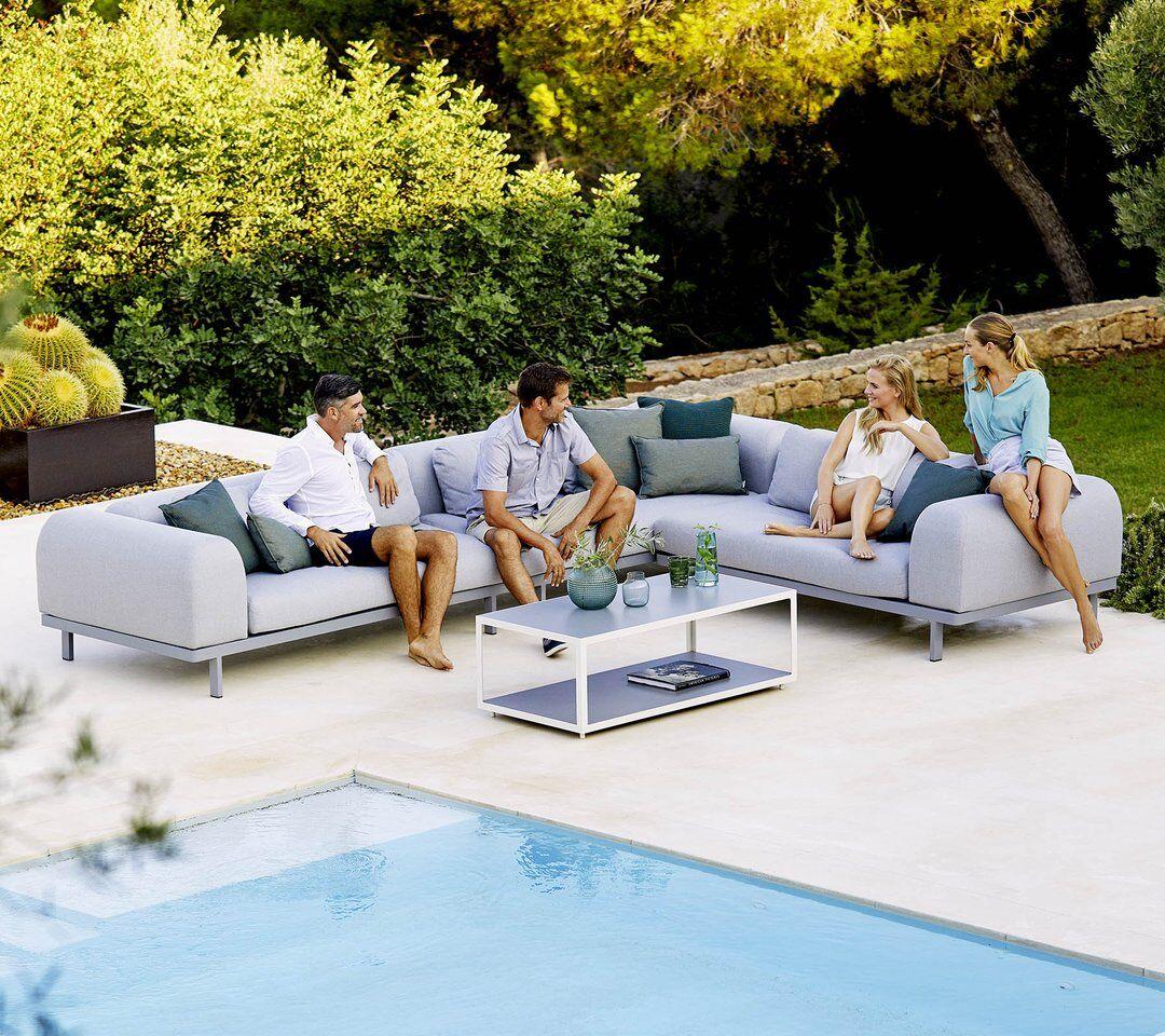 Garden Life Outdoor Living - Cane-line SPACE kerti luxus sarok ülőgarnitúra