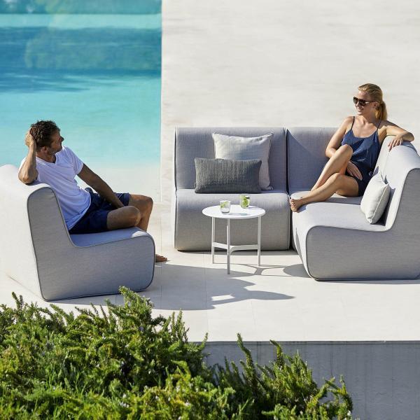 Garden Life Outdoor Living - Cane-Line FOAM Lounge kerti ülőgarnitúra