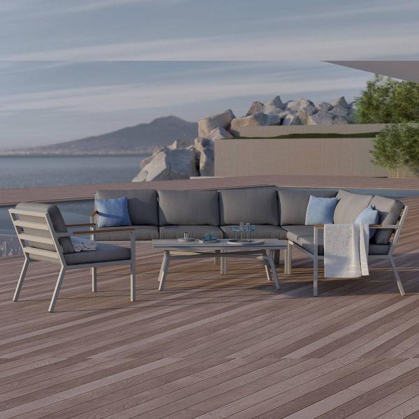 Garden Life Outdoor Living - ZUMM Lugo kerti sarok ülőgarnitúra
