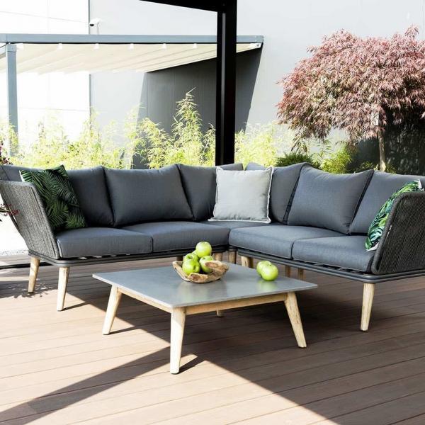 Garden Life Outdoor Living - Zumm CORFU kerti sarok ülőgarnitúra