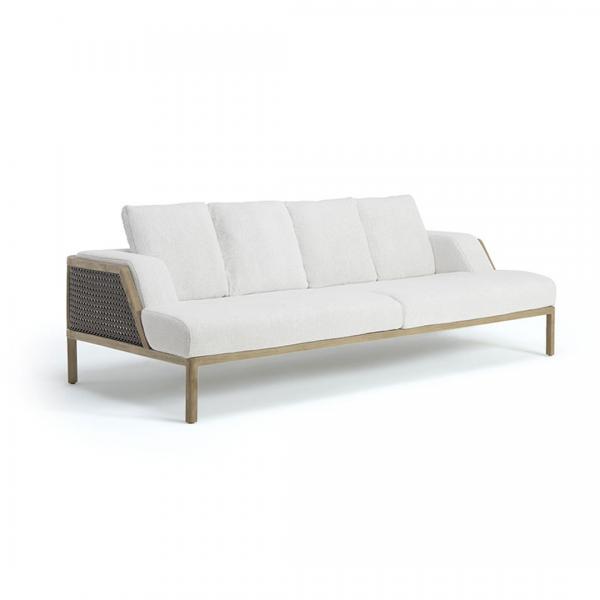 Garden Life Outdoor Living - Ethimo 'GRAND LIFE XL' 3 személyes kerti kanapé