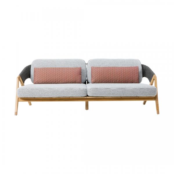 Garden Life Outdoor Living - Ethimo 'KNIT' 3 személyes kerti kanapé