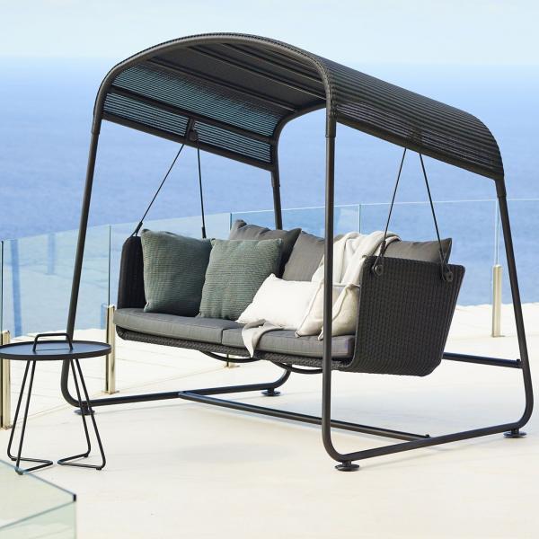 Garden Life Outdoor Living - Cane-line 'CAVE' swing sofa