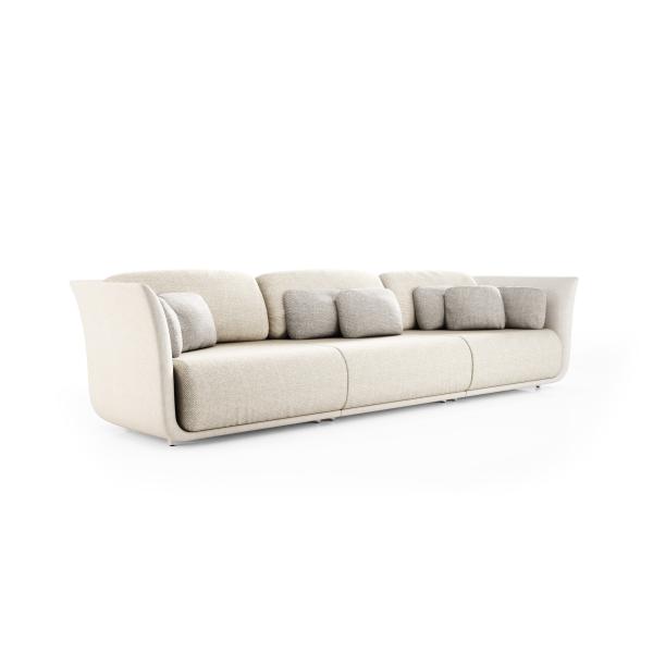 Garden Life Outdoor Living - Vondom SUAVE moduláris 3 személyes kanapé