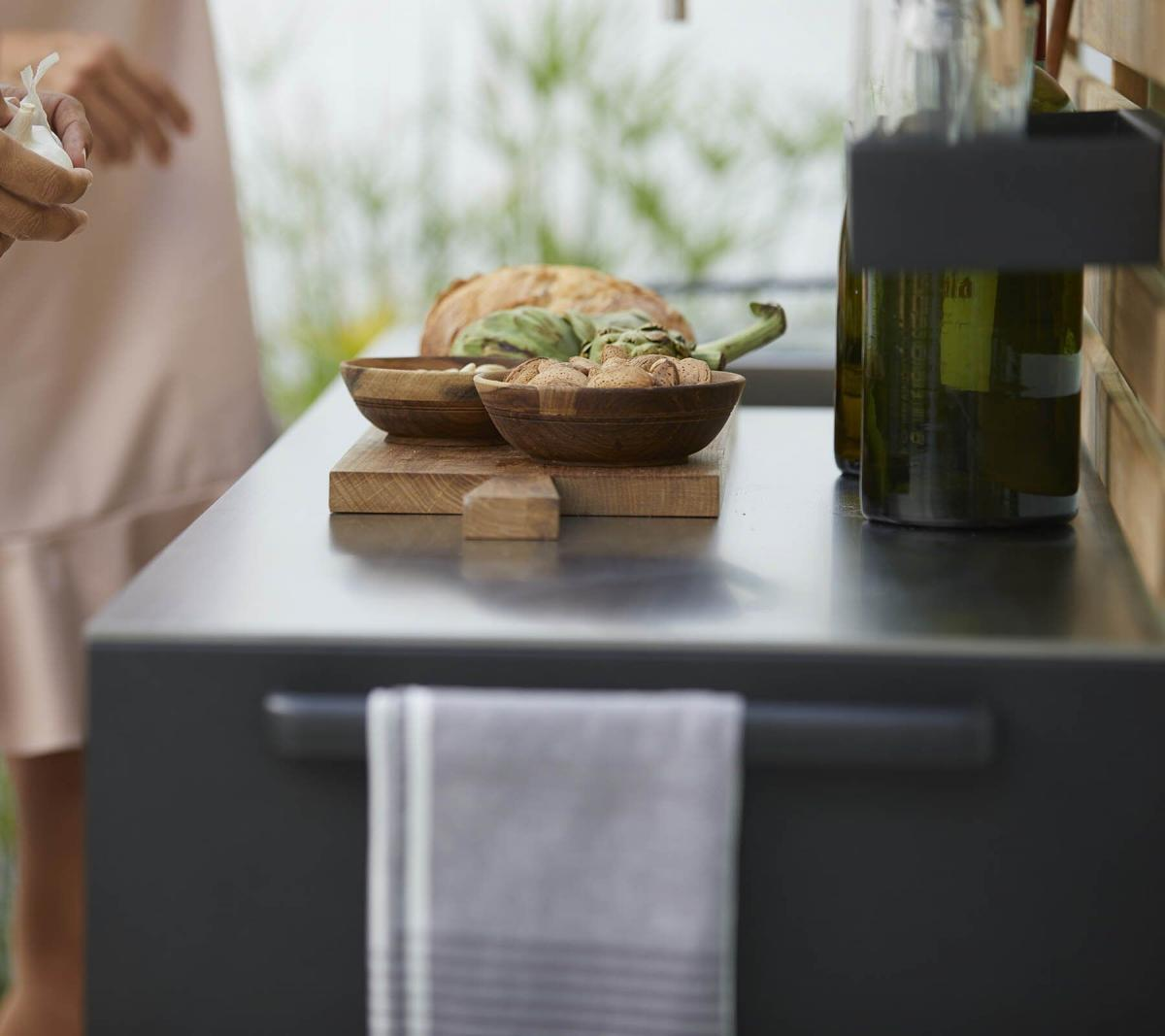 Garden Life Outdoor Living - Cane-line DROP kerti konyha modul