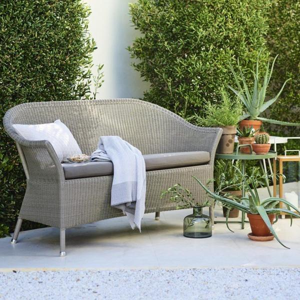 Garden Life Outdoor Living - Cane-line LANSING 2 személyes kerti kanapé