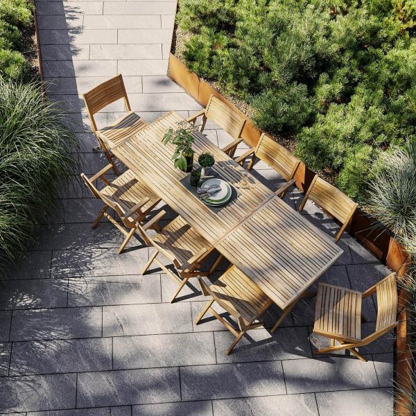 Garden Life Outdoor Living - Cane-line FLIP összecsukható étkezőasztal