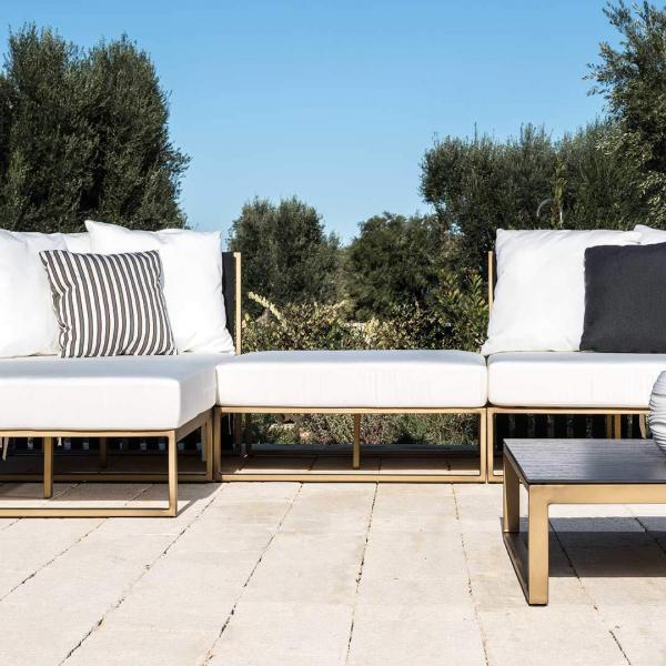 Garden Life Outdoor Living - Braid METROPOLITAN kerti luxus mini ülőgarnitúra